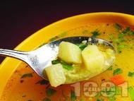 Зеленчукова супа с картофи, моркови, чушки и лук